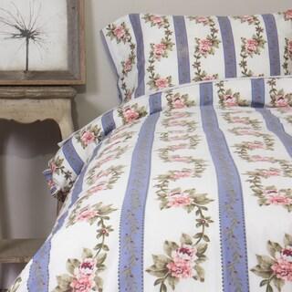 Annabelle Blue Cotton Duvet Cover