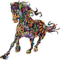 Colorful Horse Wall Sticker Decal