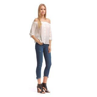 Walter Baker Women's Cammie Ivory Silk Top (4 options available)