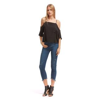 Walter Baker Jillian Black Silk Top (As Is Item)|https://ak1.ostkcdn.com/images/products/14517881/P21072245.jpg?impolicy=medium