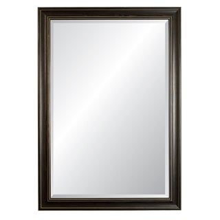Charleston Espresso Framed Wall Mirror