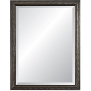 Savanah Black Framed Wall Mirror