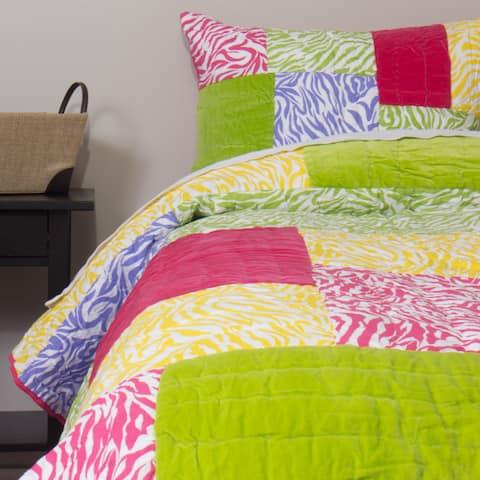 Zaidee Cotton Patchwork Quilt