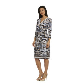 R M Richards Women's Wrap Dress