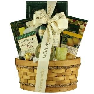 Thinking Of You Sympathy Gift Basket