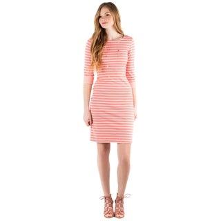 DownEast Basics Women's Unexpected Twist Dress