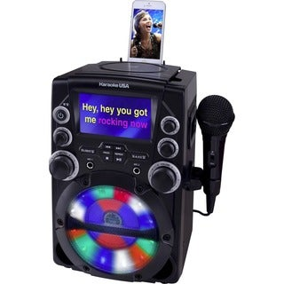 "DOK GQ740 CD+G Karaoke System with 4.3"" Color TFT Screen"