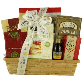 Rise and Shine On Your Birthday: Gourmet Breakfast Gift Basket