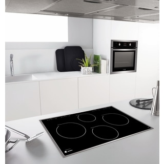 30-inch Induction Cooktop with Stainless Steel Trim
