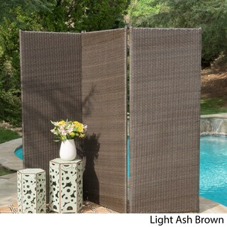 Netherlands Outdoor Wicker Privacy Screen by Christopher Knight Home (2 options available)