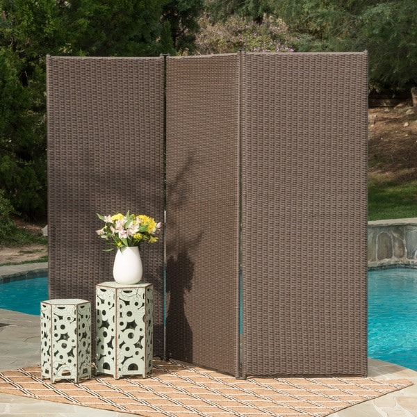 Shop Netherlands Outdoor Wicker Privacy Screen By