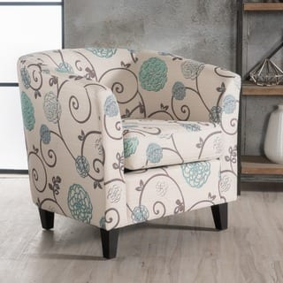 Floral Living Room Chairs For Less   Overstock.com