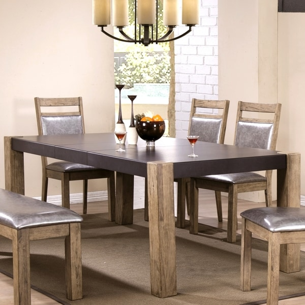 Modern Rustic Concrete Design Dining Table Brown