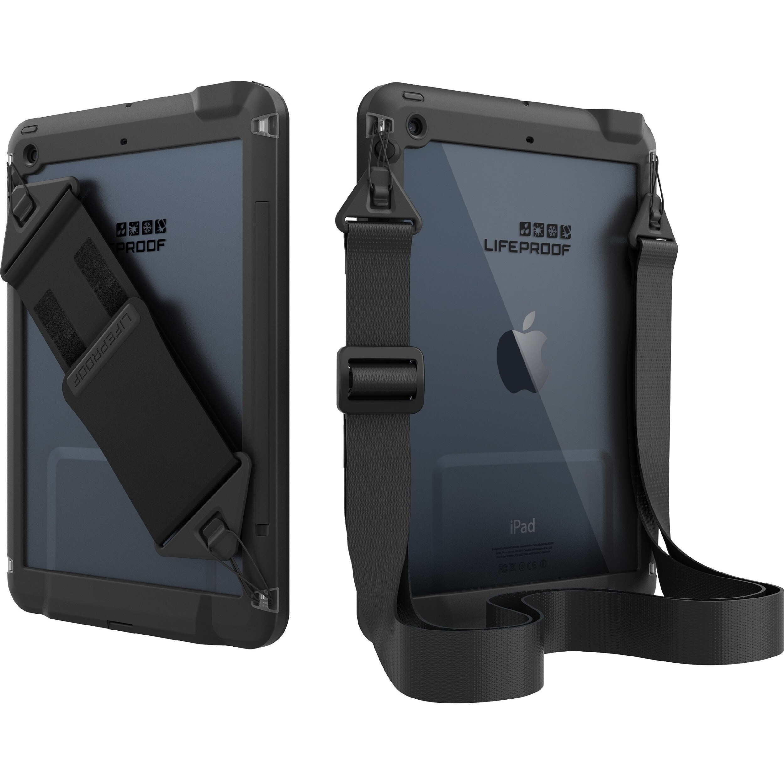 sale retailer b5b2c d15f1 OtterBox iPad Air Case Hand and Shoulder Strap - frē and nüüd