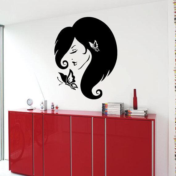 Erfly Beauty Salon Wall Decor