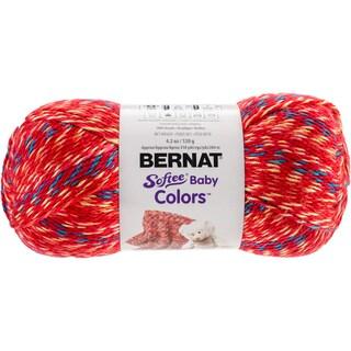 Softee Baby Yarn - Colors-Red Rainbow