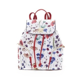 CXL by Christian Lacroix 'Lucie' Multicolor Synthetic Leather Fashion Backpack