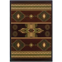 Wildwood Nashua Hand-carved Accent Rug - 1'10 x 3'1