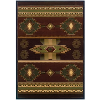 Wildwood Nashua Hand-carved Accent Rug (2'7 x 4'2)