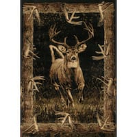 "Wildwood Regal Run Toffee Hand-carved Runner Rug - 2'7"" x 7'3"""