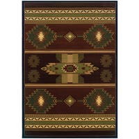 """Wildwood Nashua Hand-carved Area Rug (5-feet 3-inches x 7-feet 6-inches) - 5'3"""" x 7'6"""""""
