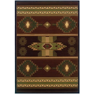 Wildwood Nashua Hand-carved Area Rug (5-feet 3-inches x 7-feet 6-inches)