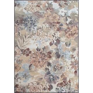 Twilight Floral Multi Rug ( 6'7 x 9'6 )