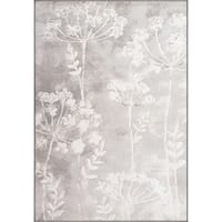 Twilight Floral Ivory Area Rug - 6'7 x 9'6