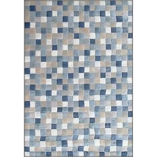 Twilight Multi Blue Area Rug (6'7 x 9'6 )