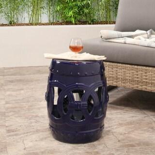 Stupendous Top Product Reviews For Abbyson Moroccan Navy Garden Stool Machost Co Dining Chair Design Ideas Machostcouk