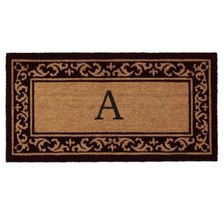 Kendall Monogram Doormat (2' x 4')