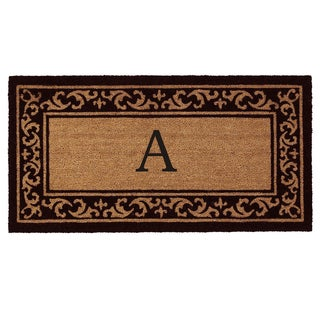 Kendall Monogram Doormat (2' x 4') (More options available)
