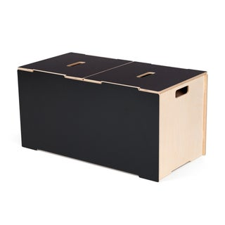 Large Kids Wooden Toy Box