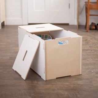 Large Kids Wooden Toy Box (3 options available)