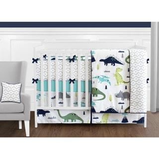 Shop Sweet Jojo Designs Blue And Green Argyle 9 Piece Crib