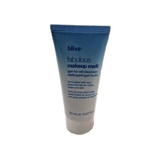 Bliss Fabulous 0.67-ounce Makeup Melt Gel-To-Oil Cleanser