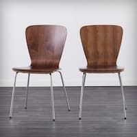 Holly & Martin Cadby Bentwood Dining Chairs (Set of 2) - Walnut