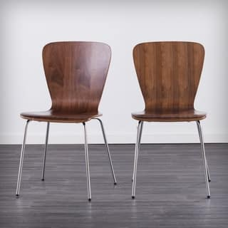 Holly Martin Cadby Bentwood Dining Chairs Set Of 2 Walnut