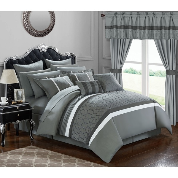 Chic Home 24-Piece Lance Bed In a Bag Comforter Set