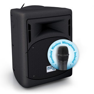 Oklahoma Sound Corporation PRA8000 Black Metal Wireless Portable Audio System
