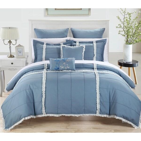 Chic Home Legenda 11-Piece Bed In A Bag Comforter Set