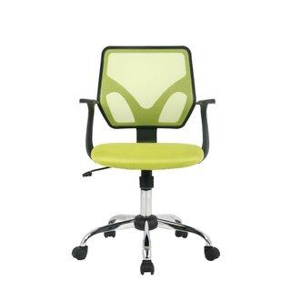VIVA Mid-Back Yellow Mesh Office Chair
