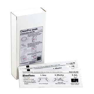 Cassida CleanPro Cleaning Swab for Currency Counters, Coin Counters, and Printers (Case of 15)