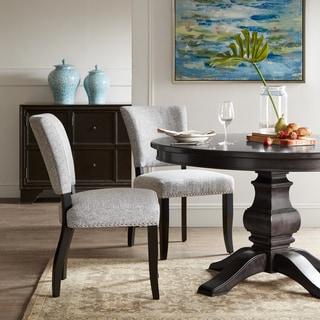 Madison Park Parler Grey Dining Chair (Set of 2)