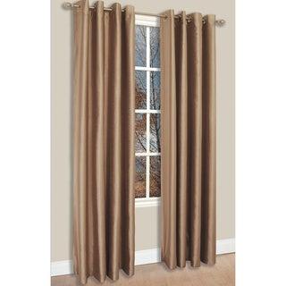 Famous Home Tulia Taupe Window Curtain Panel