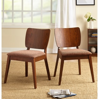 Simple Living Bernard Mid-Century Dining Chairs (Set of 2)