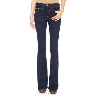 Rag Bone Women's The 10-nch Beckett Bell Bottoms Flare Jeans