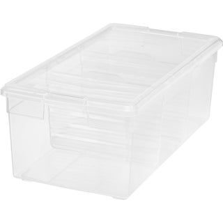 IRIS Multi-Media Storage Box With Dividers