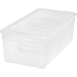 IRIS Multi-Media Storage Box With Dividers
