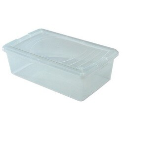 6 Quart Modular Clear Stackable Storage Box